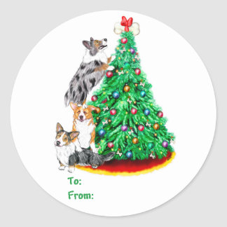Corgi Cristmas Reach Goals Gift Tags
