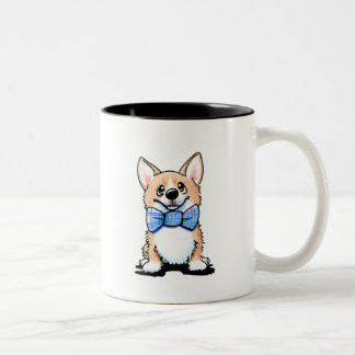 Corgi Cutie Two-Tone Coffee Mug