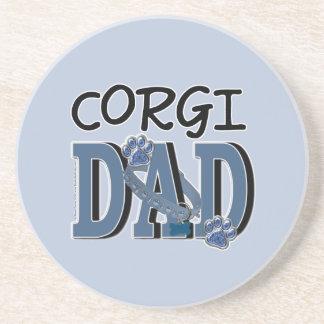 Corgi DAD Drink Coaster