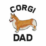 Corgi Dad  Embroidered Shirt