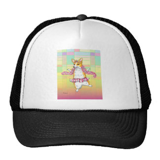 Corgi Dancing Ballerina Cap