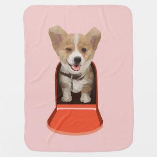 Corgi Delivery Baby Blankets