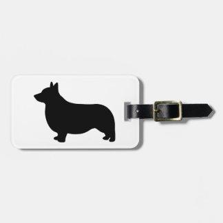 Corgi Dog Bag Tag