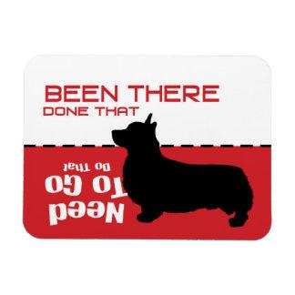 Corgi Dog Gone Potty Magnet - let the dog out