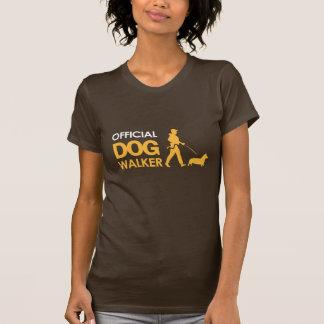 Corgi Dogwalker Women T-shirt