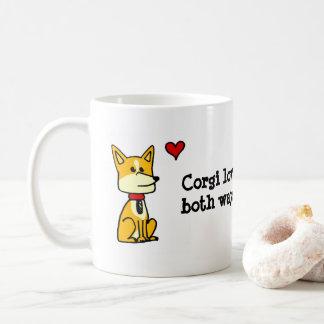 Corgi Love Goes Both Ways Mug