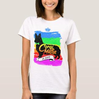 Corgi Mafia Brand Logo T-Shirt (Rainbow)