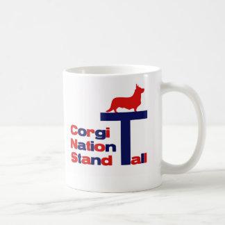 Corgi Nation Stand Tall Coffee Mug