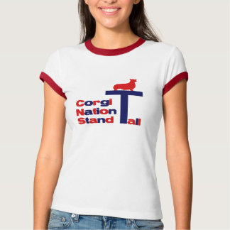 Corgi Nation Stand Tall Shirts