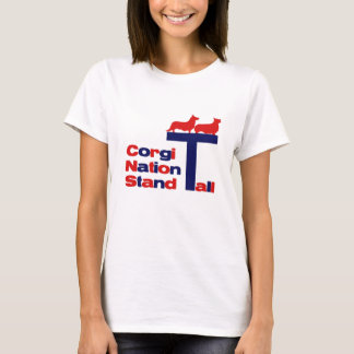 Corgi Nation - Stand Tall T-Shirt