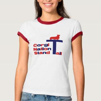 Corgi Nation Stand Tall T-Shirt