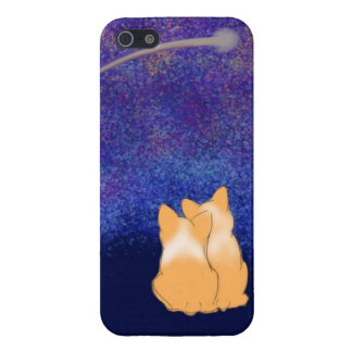 Corgi Night Love - Phone Case iPhone 5 Cover