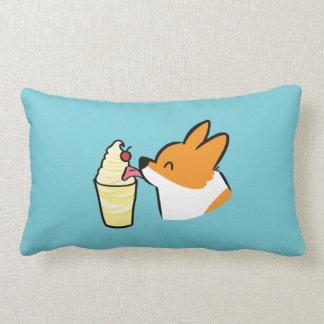Corgi Pineapple Dole Whip Dog Lumbar Pillow