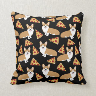 Corgi Pizza pillow