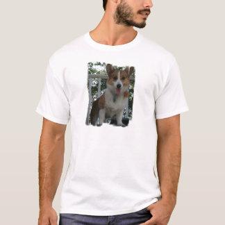 Corgi Puppy Dog Men's T-Shirt
