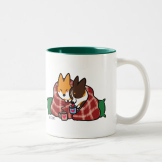 Corgi Snuggles Mug | CorgiThings