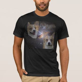 Corgi space shirt