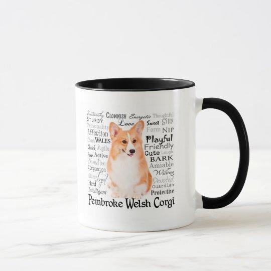 Corgi Traits Mug