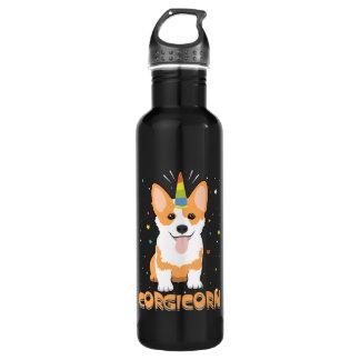 Corgi Unicorn - Corgicorn - Cute Dog Cartoon 710 Ml Water Bottle