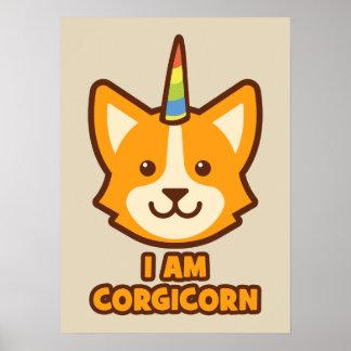 Corgi Unicorn - CORGICORN Poster