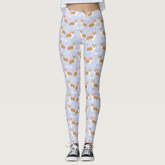 Corgi Unicorn Pastel Leggings