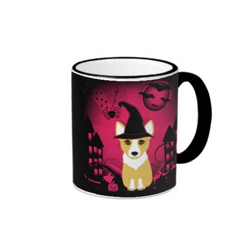 Corgi Witch Coffee Mug
