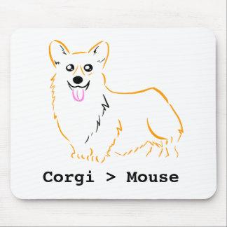 Corgis are better than mice! mouse mat