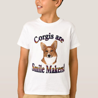Corgis are smile Makers - Pippin T-Shirt