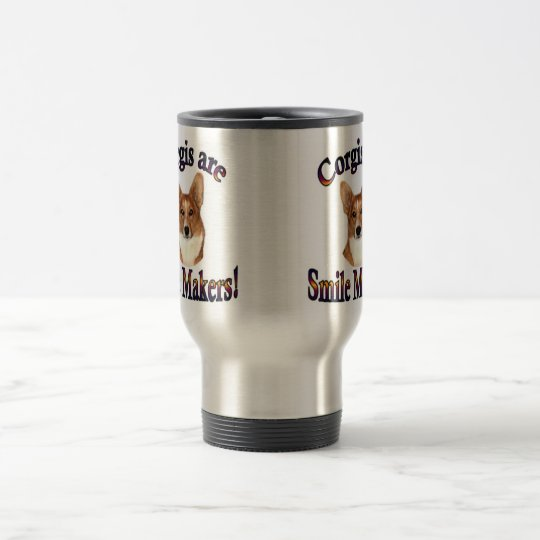 Corgis are Smile Makers Travel Mug