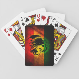 Cori Reith Rasta reggae lion Playing Cards