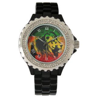 Cori Reith Rasta reggae lion Wristwatches