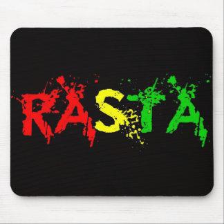 Cori Reith Rasta reggae peace Mouse Mat