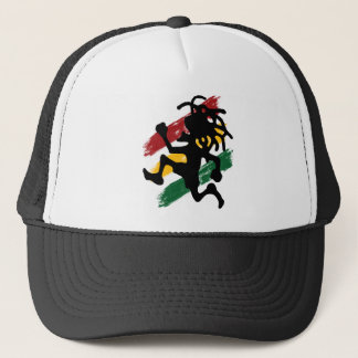 Cori Reith Rasta reggae Trucker Hat