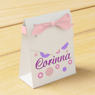 Corinna Favour Boxes