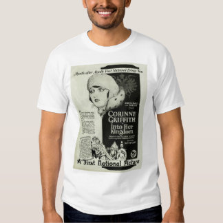 Corinne Griffith 1926 movie ad T-shirt