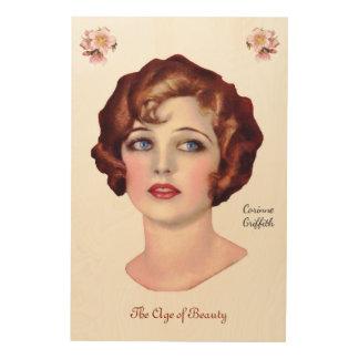 Corinne Griffith Wood Print