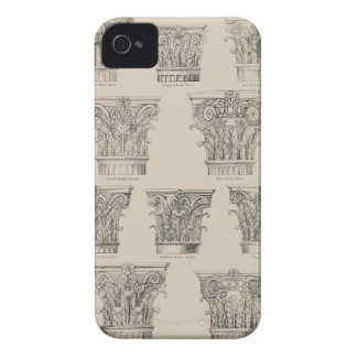 Corinthian and Composite Capitals iPhone 4 Cover