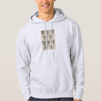 Corinthian and Composite Capitals Hooded Sweatshirts