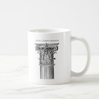 Corinthian Order Column Mug