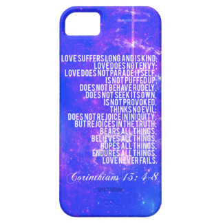 Corinthians 13 4-8 cover for iPhone 5/5S
