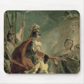 Coriolanus in the Environs of Rome, c.1725 Mouse Mat