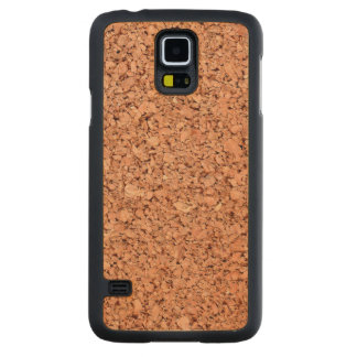 Cork Board Carved Maple Galaxy S5 Case
