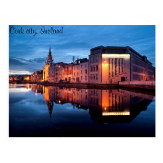Cork city postcard
