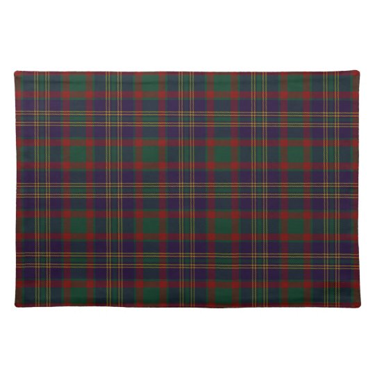 Cork County Irish Tartan Placemat