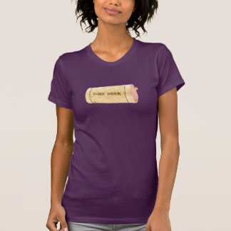 Cork Dork - Purple T-Shirt