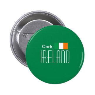 Cork, Ireland Button