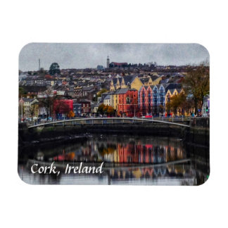 Cork Ireland Colors in Winter Magnet