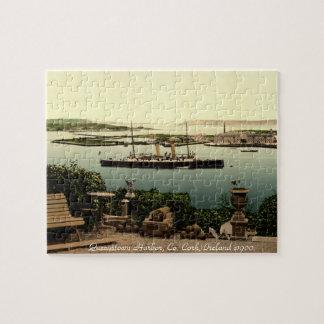Cork, Ireland jigsaw, Queenstown harbor Jigsaw Puzzle