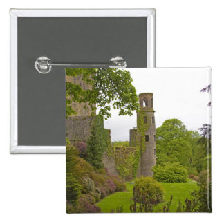 Cork, Ireland. The infamous Blarney Castle 2 15 Cm Square Badge