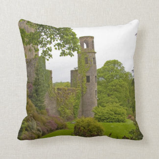 Cork, Ireland. The infamous Blarney Castle 2 Throw Pillow